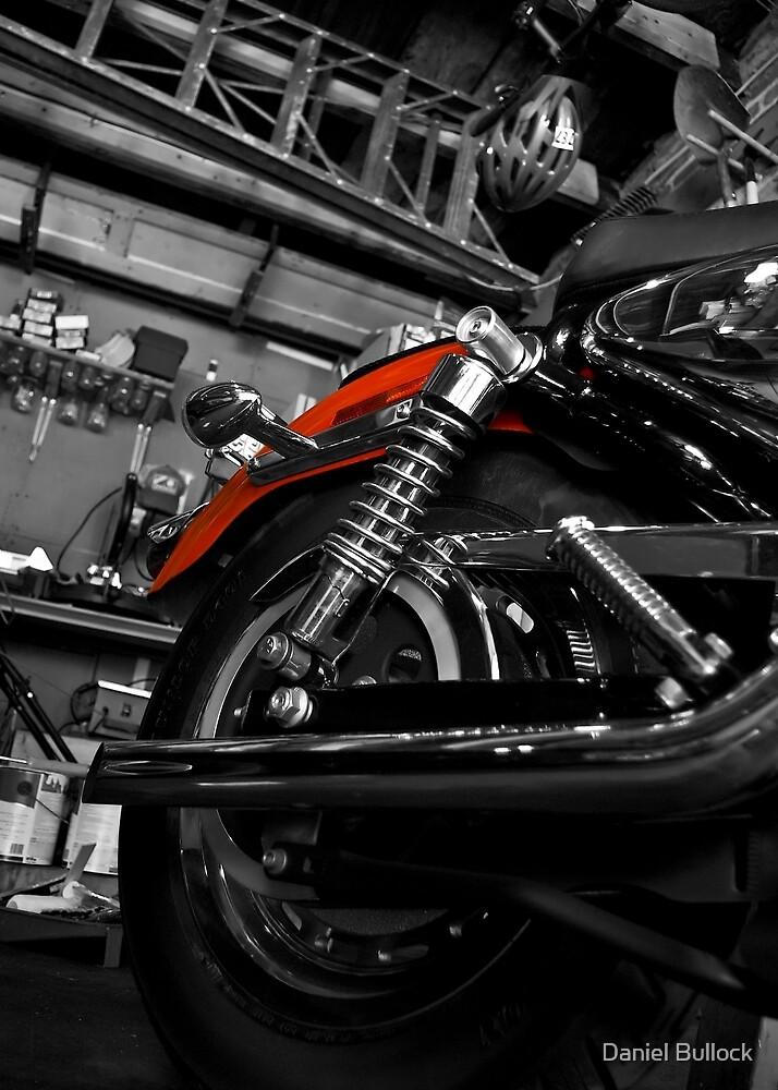 Red Bike by Daniel Bullock