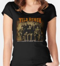 Butch Cassidy's Wild Bunch Women's Fitted Scoop T-Shirt