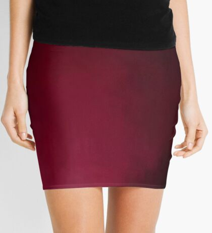 Burgandy Beauty Mini Skirt