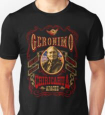 Apache Geronimo Native American T-Shirt T-Shirt
