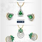 Popular Emerald Earrings For Girls by Raj Kundra