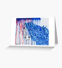 Patriot Horse Greeting Card