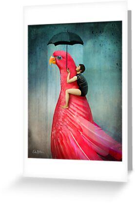 Under My Umbrella by Catrin Welz-Stein