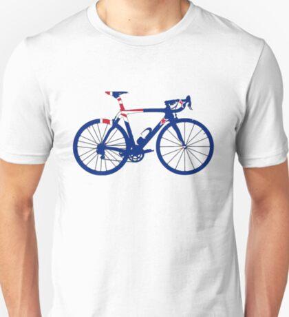 Bike Flag New Zealand (Big) T-Shirt
