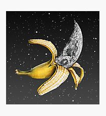 Moon Banana! Photographic Print