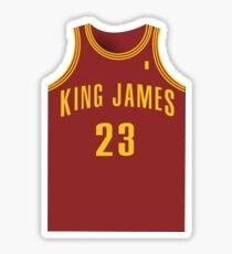 KING JAMES Sticker