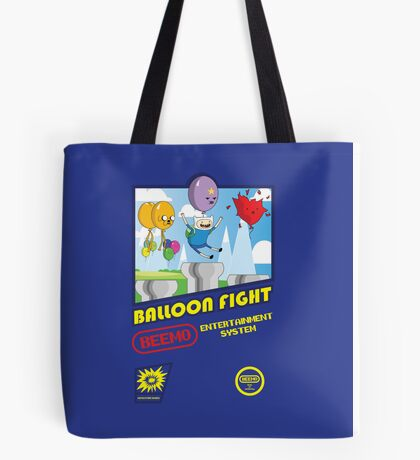 Adventure in Balloon Fighting Tote Bag
