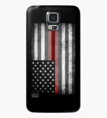 The Thin Red Line - American Firefighter Case/Skin for Samsung Galaxy
