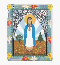St. Kateri Tekakwitha iPad Case/Skin