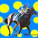 American Pharoah Triple Crown Colors by ayemagine