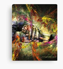 Entrelaces, featured in Vavoom Canvas Print