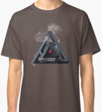 Abstract Geometry: The Portal (White Smoke) Classic T-Shirt