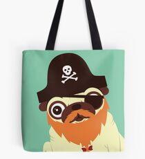 Pug in a crew Tote Bag