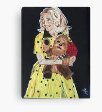 Blanche and Chewy Canvas Print