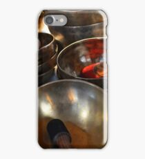 Singing Bowls. Festival of the Orient, Milan, Italy 2016 iPhone Case/Skin
