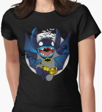 The Caped Invader Womens Fitted T-Shirt