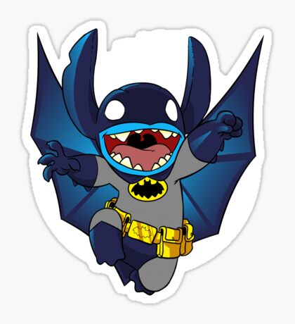 The Caped Invader Sticker