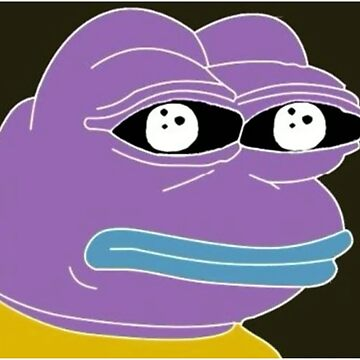 Inverted Color Pepe the Frog Dank Meme by superfly360