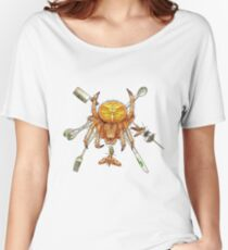 The Orb Weaver, the Moth, and the Grenade #2 Women's Relaxed Fit T-Shirt