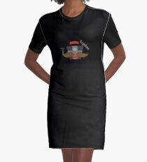 Claptrap Graphic T-Shirt Dress