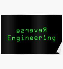 Reverse Engineering slogan Poster