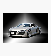 Audi 'Silver Fox' R8 II Studio Photographic Print