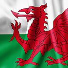 Wales Flag by MarkUK97