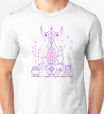 Santa Fe Garden – Blue & Purple T-Shirt