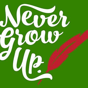 Peter Pan - Never Grow Up. by tonysimonetta