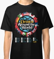 Drink Around the World - EPCOT Checklist v1 Classic T-Shirt