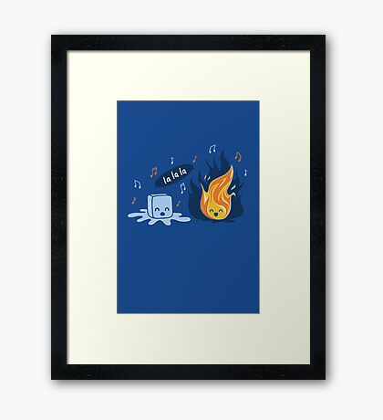 A Song Framed Print