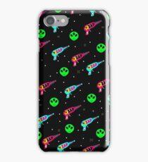 Alien Zap iPhone Case/Skin
