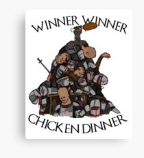 "Game of Thrones- ""Sweet Chicken"" Canvas Print"