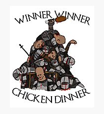 """Game of Thrones- """"Sweet Chicken"""" Photographic Print"""