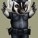 BADGER POLICE by MEDIACORPSE