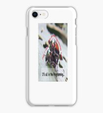 Sexual attraction, it's all in the Programming… iPhone Case/Skin