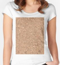 Cork Women's Fitted Scoop T-Shirt