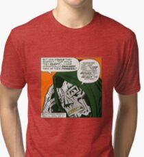 MF DOOM - Metal Fingerz shirt Tri-blend T-Shirt