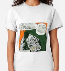 MF DOOM - Metal Fingerz vol.4 Classic T-Shirt