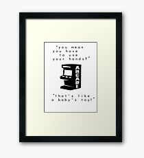 Baby's toy Framed Print