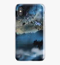 The Blue Mists Of Time iPhone Case/Skin