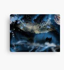 The Blue Mists Of Time Canvas Print
