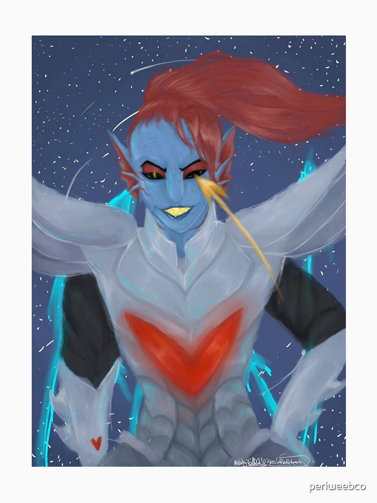 Undyne The Undying by periweebco