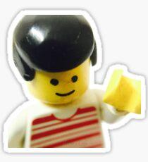 Retro Lego Minifigure Sticker