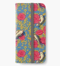 Koi and roses iPhone Wallet/Case/Skin
