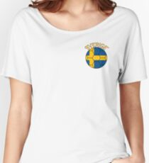 sverige Women's Relaxed Fit T-Shirt