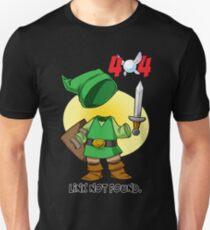 404 Link Not Found Unisex T-Shirt
