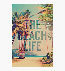 Beach Life Photographic Print