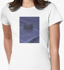 Snowy Barn Womens Fitted T-Shirt