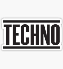 Techno  Sticker